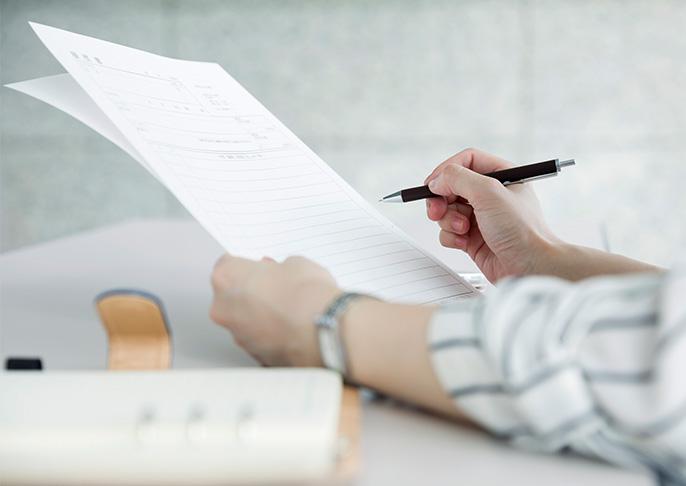 書類選考のイメージ